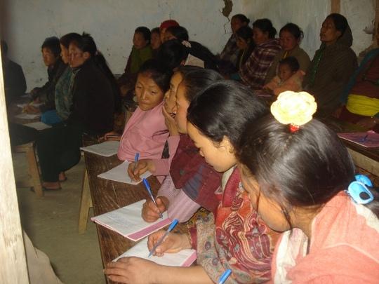 Limbu Literacy class, Kurmaba-2, Panchthar