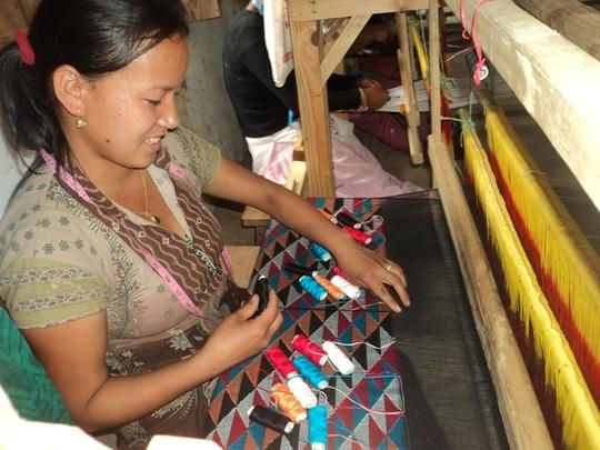 Dhaka Weaving Training