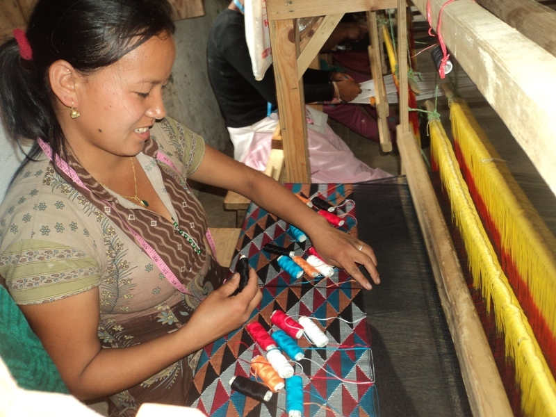 Dhaka Weaving Training