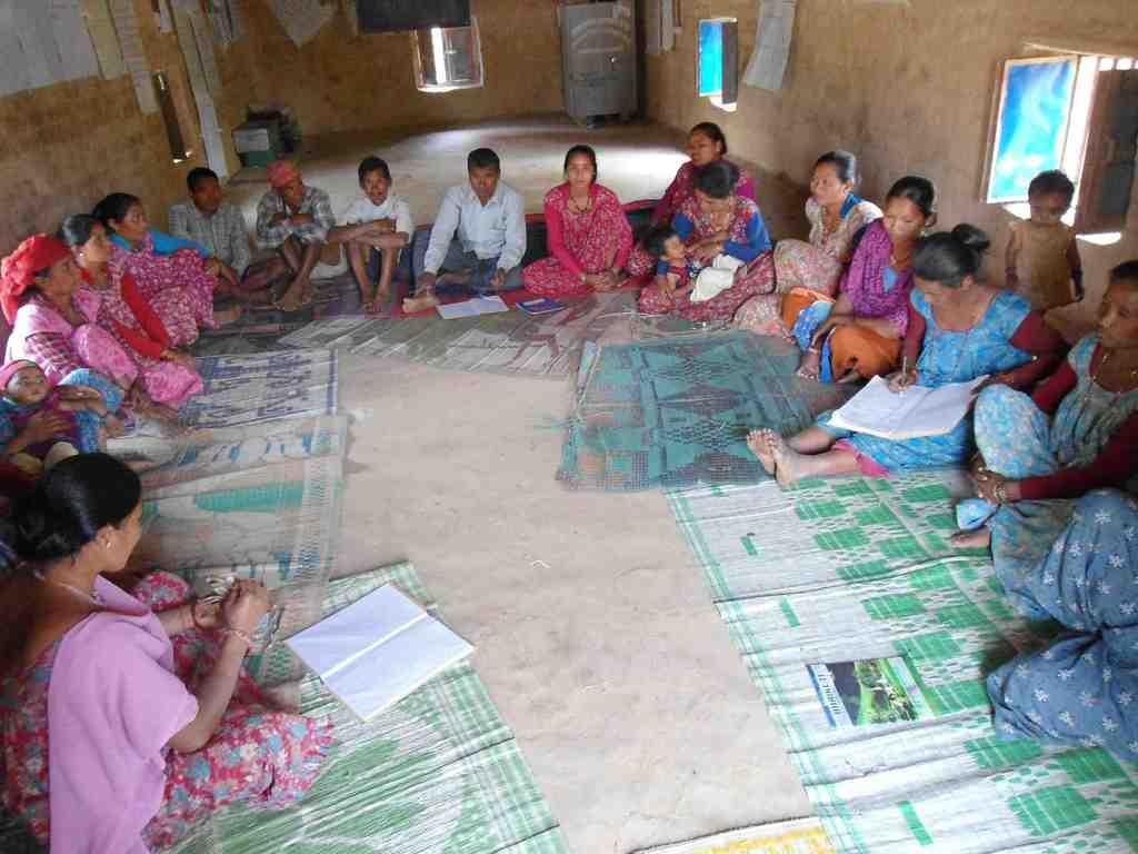 Jhalari Cooperative Group meeting, Dang