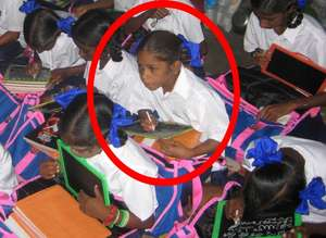 After - Jyothi is in classroom