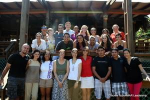 Feb. workshop participants in Placencia, Belize