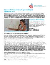 Second Report - MAR Leadership Program  (PDF)