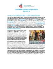 Fourth MAR Leadership Program Report (March 2012) (PDF)