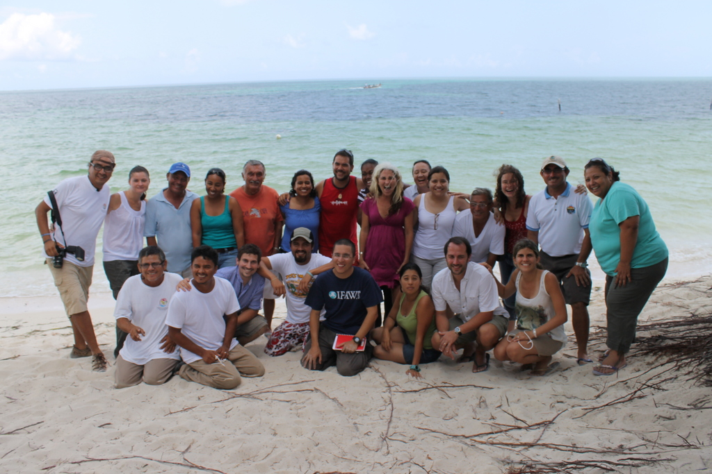 Interacting with Punta Allen