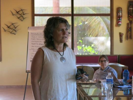 Advocacy training with Lori Maddox, ELAW
