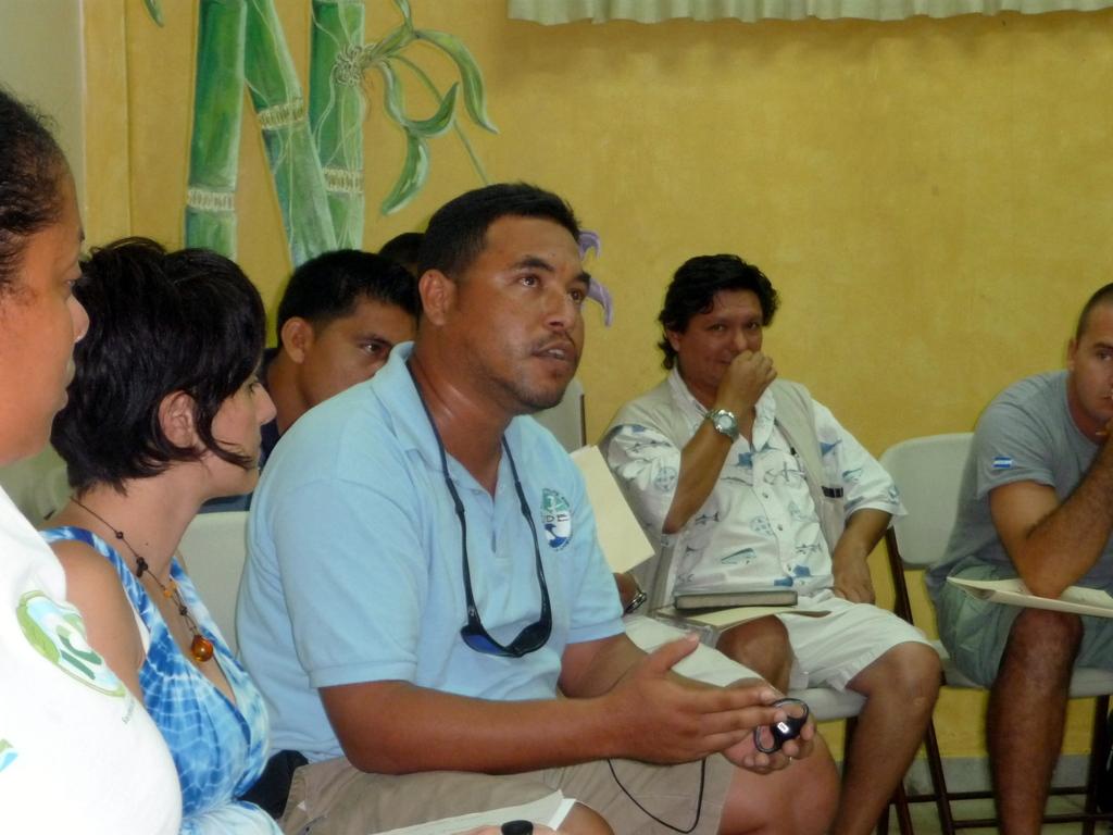 Seleem Chan (Belize) asks a question