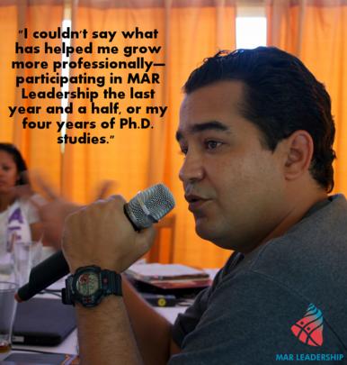 Yuself Cala on MAR Leadership