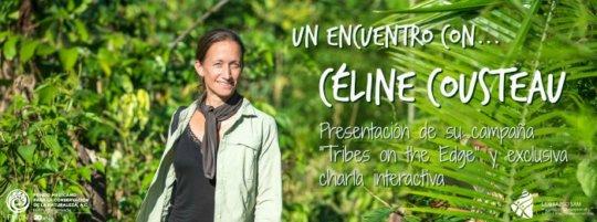 Celine Cousteau in Cancun