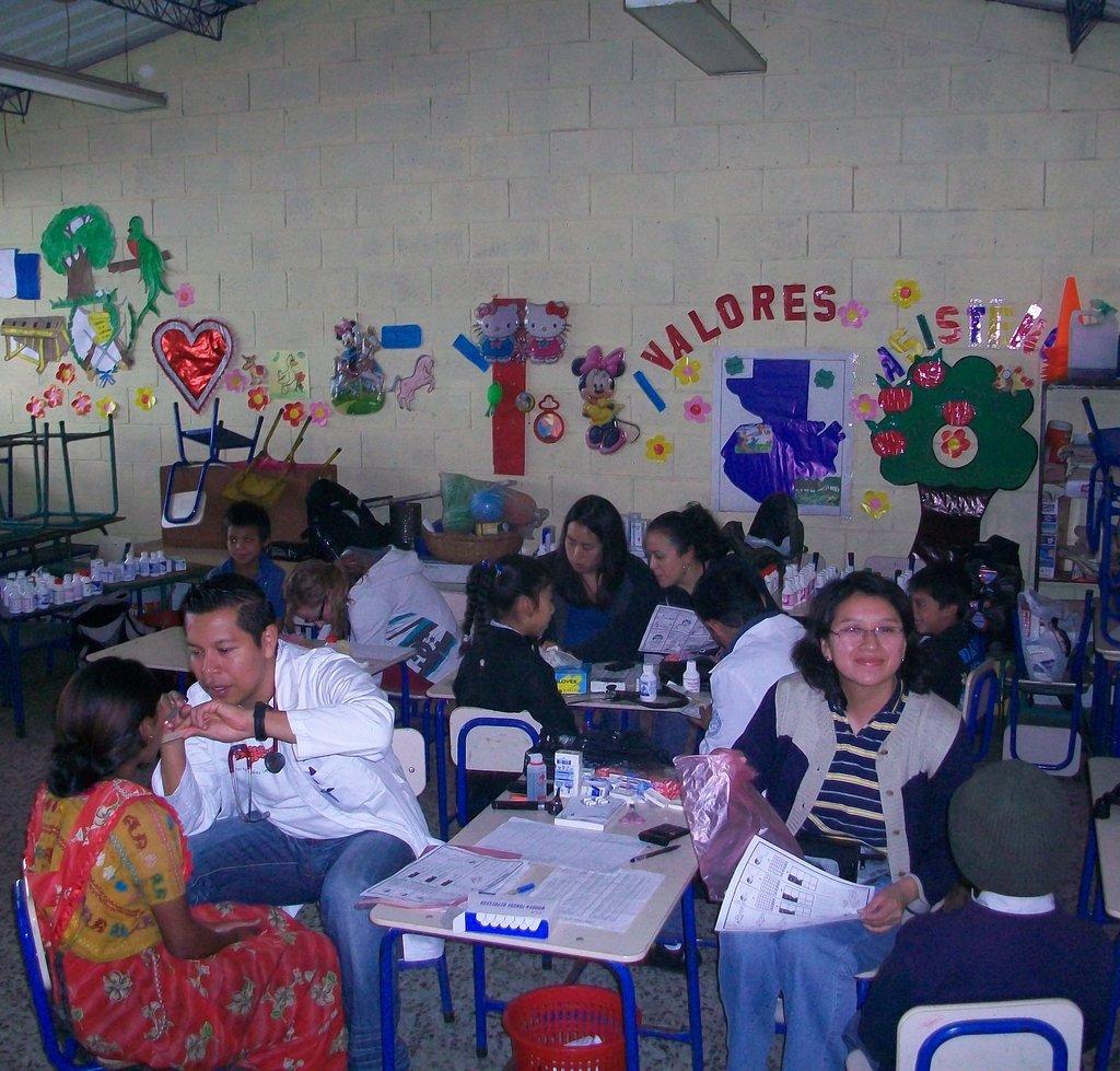 Attending to the Children of Las Majadas