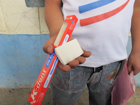 Toothbrush and Soap for Every Kid