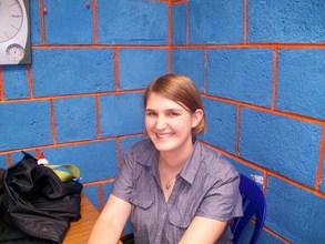 New Volunteer Coordinator, Rachel Kitch