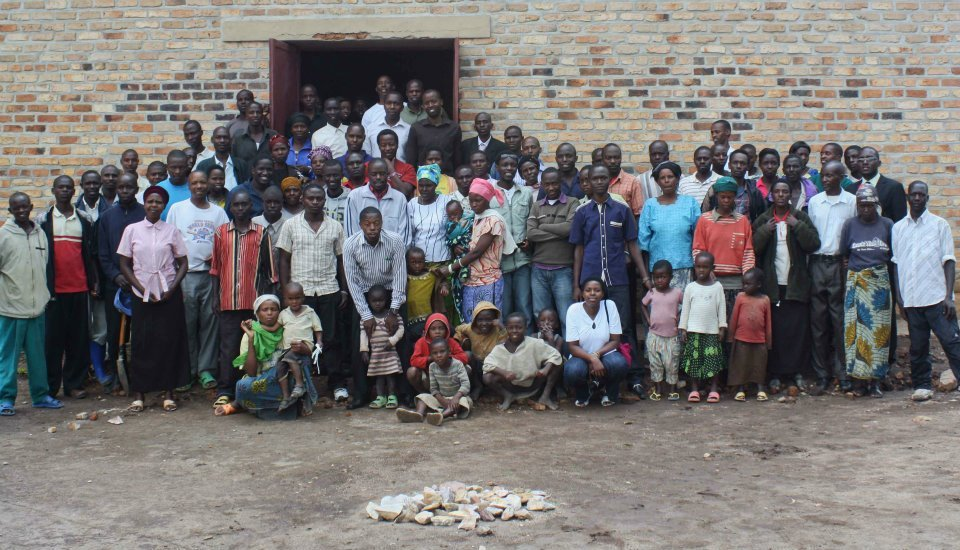 Group Photo After Working In Ntenyo