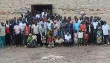Group photo of the Ntenyo Umuganda