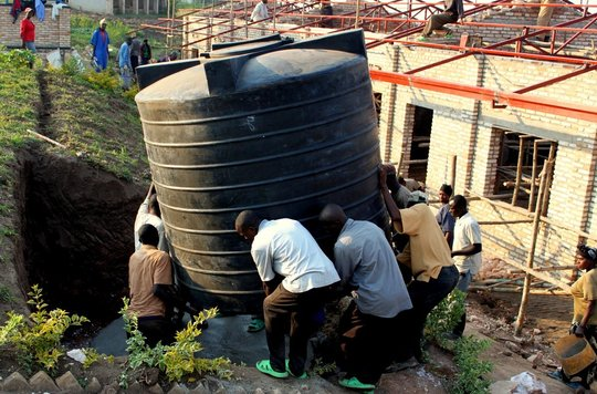 Water Tank and Community