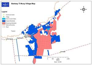 Banteay Ti Muoy Clearance Map