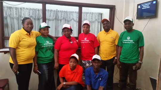 PMI DR Congo Team