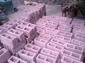 Hollow non load-bearing concrete block by Kamat
