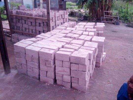 Blocks made by Kamat Beton