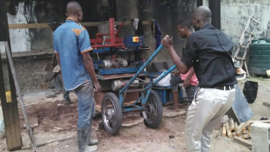 Men at work at Kamat Beton