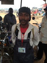 Mr Kasereka Justin a demobilised soldier in DRC