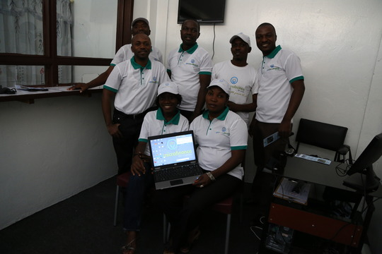 Staff from the Kinshasa Office Eager to Start