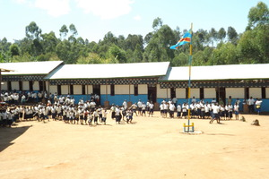 Nyalulembe School in Eastern DRC