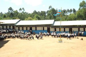 Nyalulembe School in Eastern DRC