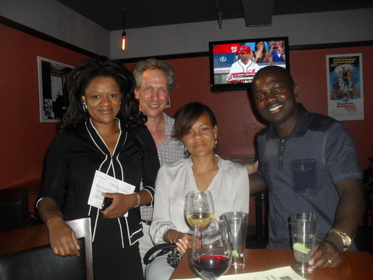 PMI Board members and Supporters at the Getaway DC