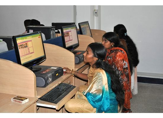 These girls are the present and future leaders of India. With the help of Friends Unite, Brahmi, and SELCO Solar, they now have access to modern technology, a powered computer lab that will help them advance their education and provide them the opportunity for a bright future.