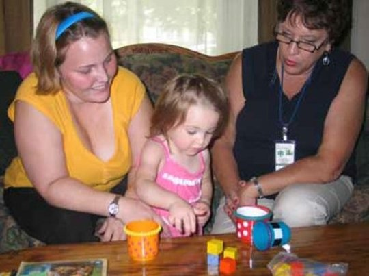 Jessika, Lilly and Nurse Julie