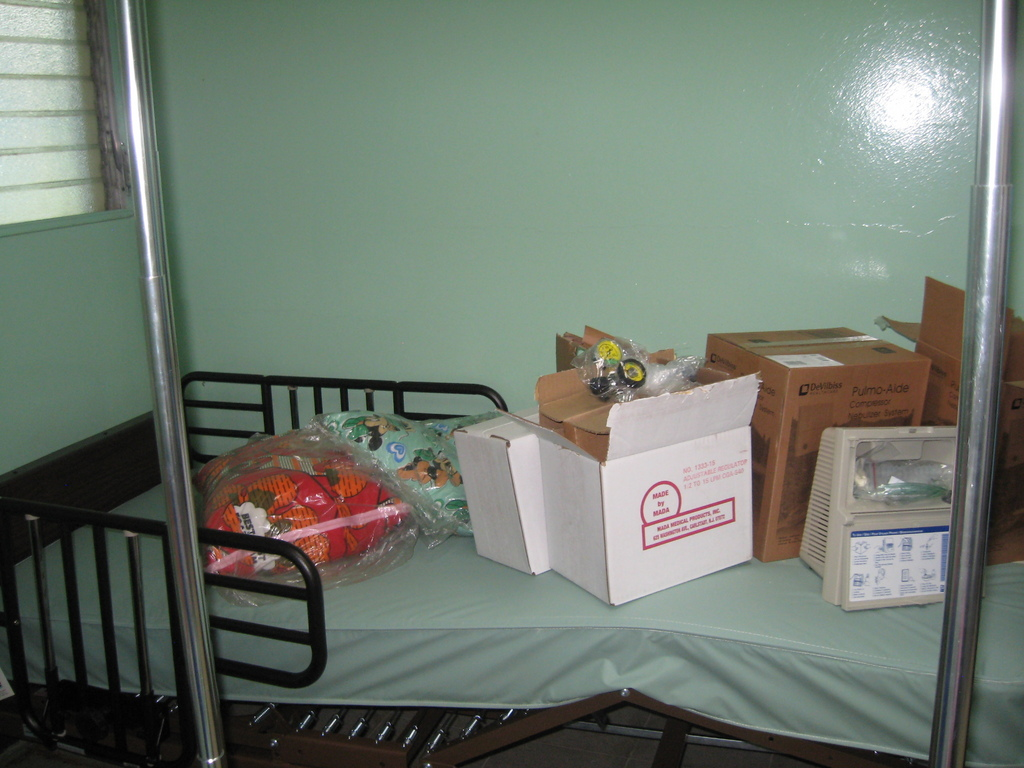 Some of the Medical Equipment