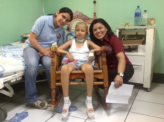 Cancer Children Need Hospital Rooms In Nicaragua