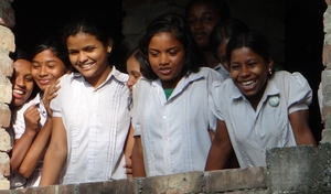 Students of Debipur Karunamoyee Balika Vidyapith