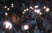 Solar Lamps for 2000 Students in Sundarbans, India
