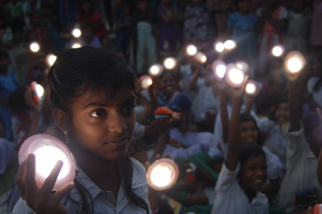 Solar Lamps for 2600 Students in Sundarbans, India