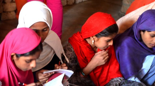 HELP EDUCATE 750 GIRLS IN RURAL INDIA