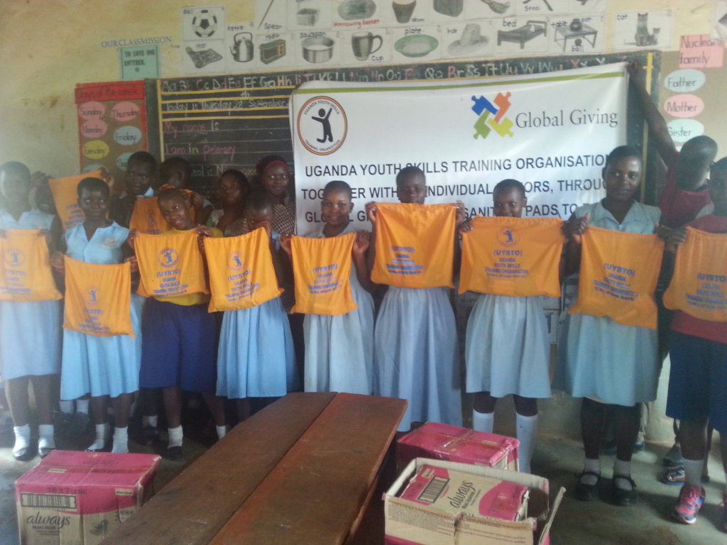 Donate to buy Sanitary pads for 50 girls in school