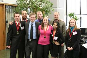 Part of our team after the awards ceremony