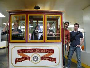 Team Members enjoying San Fransisco