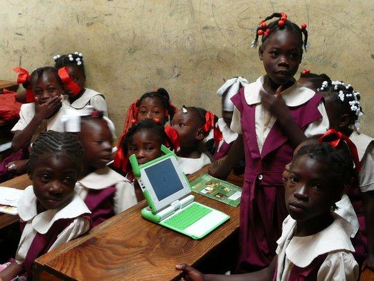 Activity surrounding laptop
