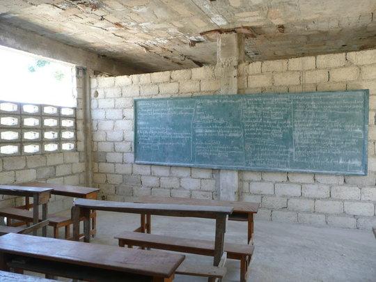 Ecole Baptiste - Classroom