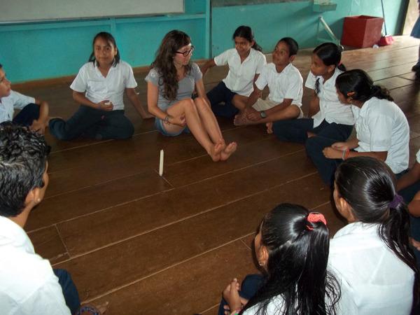 environmental education in El Progreso School