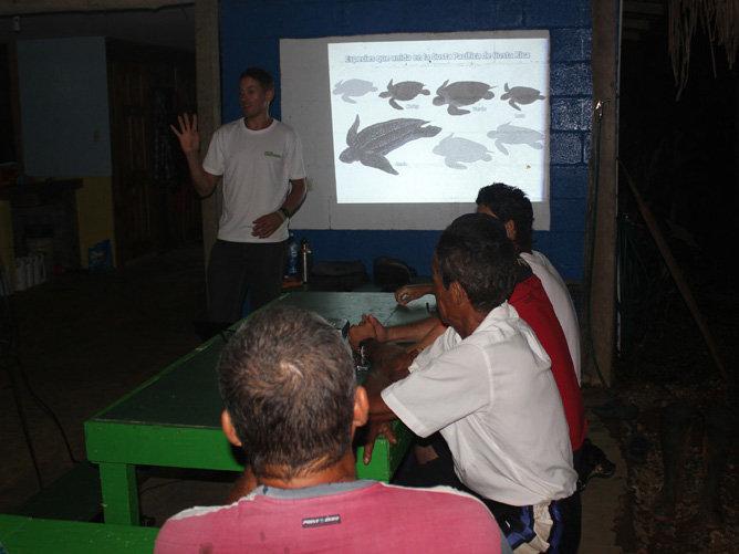 Training ACOTPRO patrol leaders
