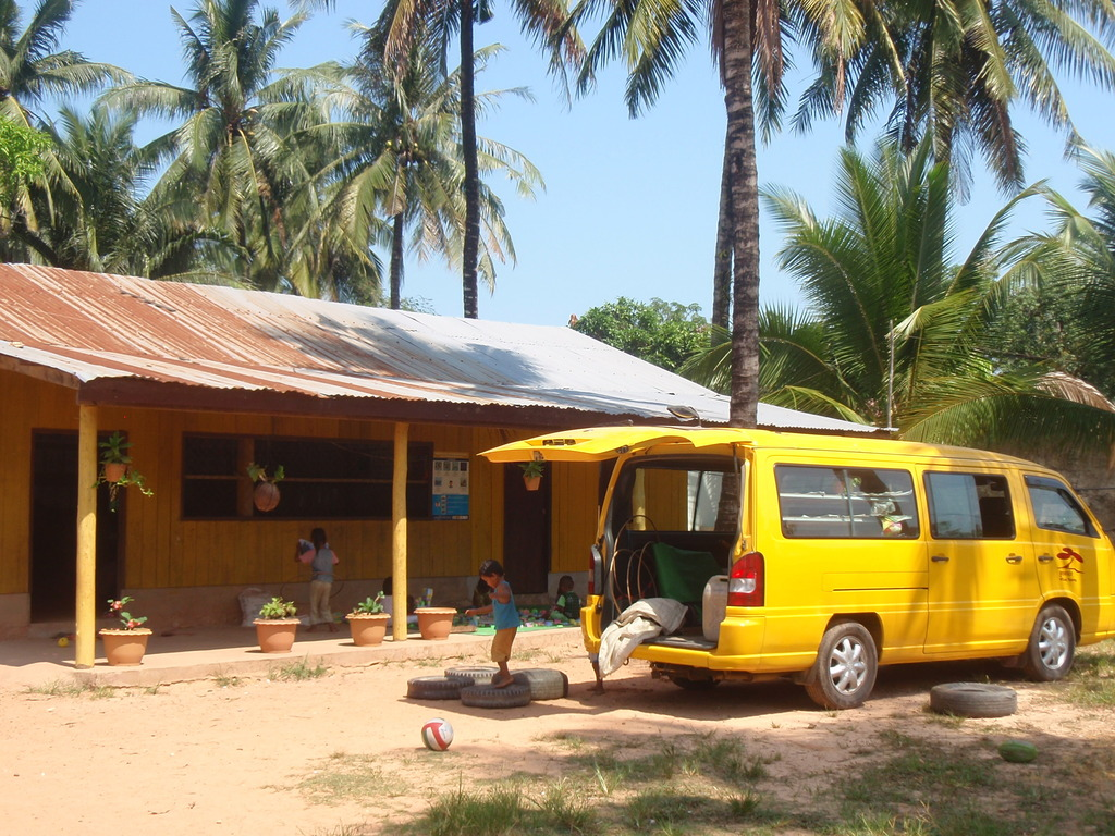 Mobile Library at one of many locations it visits