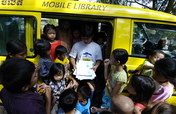 New Mobile Library for Street Children in Cambodia