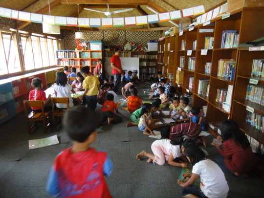 YUM Cipanas Library