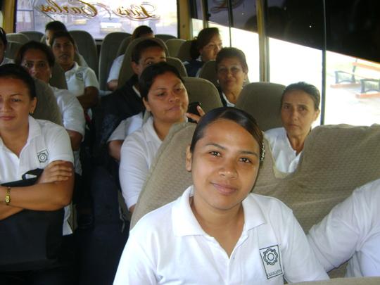 Maria de Los Angeles, CAPTA student