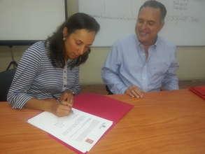 Dr. Richard Ford and Hildegard Vasquez