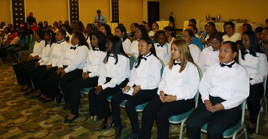 CAPTA students during the graduation act.